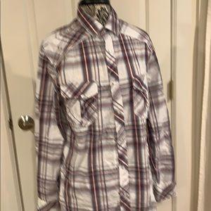 Helix button down shirt